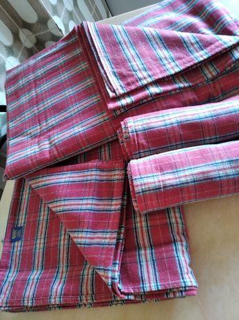 Lençóis de cama de casal em flanela Sampedro