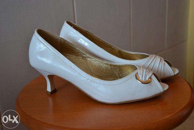 buty ślubne, białe buty, buty na ślub, roz 39