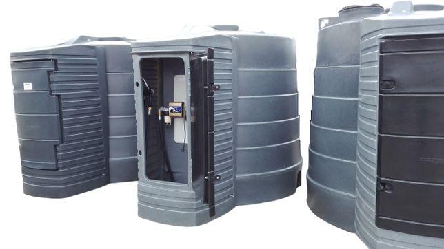 Zbiornik dwuplaszczowy na paliwo paliwa ropę olej napędowy 5000L