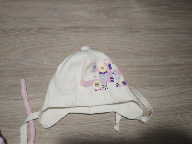 Шапочка/шапка на малышку(ОГ 46) Barbaris 9-12 м.
