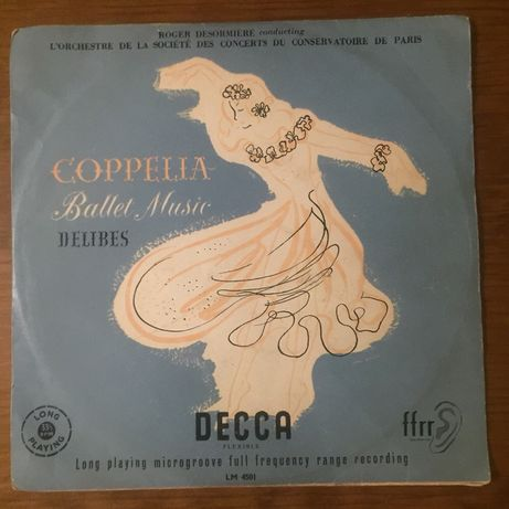 Disco Compelia ballet music 33 1/3 RPM