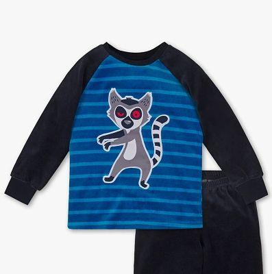 Nowa ciepła piżamka lemur król Julian Madagaskar C&A 116