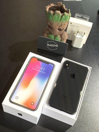 iPhone X, 256gb, Black, Neverlock | RAZOR.STORE.UA |