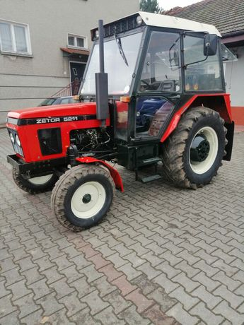 Ciągnik Rolniczy Zetor 5211 Wspomaganie kierownicy