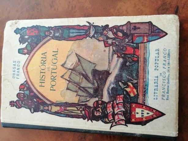 Livros História de Portugal livros escolares