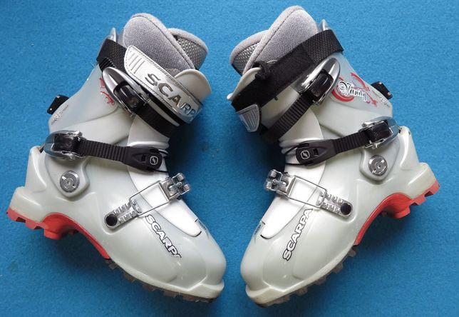 Buty SKITUROWE SCARPA skitour 24,0 37,0 używane