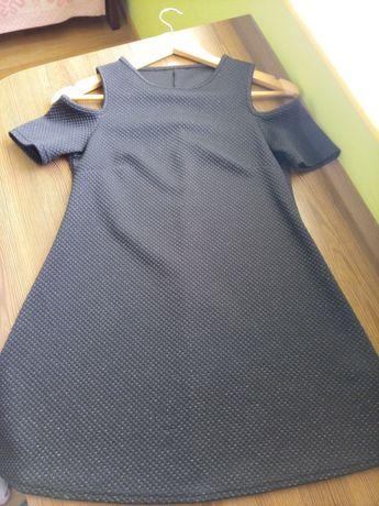 Красивое платье с люрексом  134 р