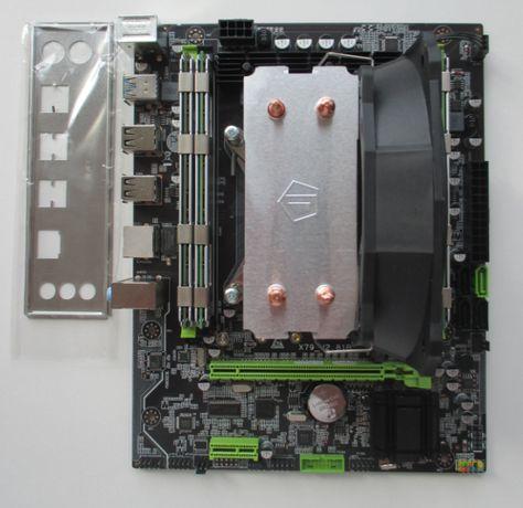 Игровой комплект X79 Xeon E5-1620 (I7) 4.2GHz, 16Gb, USB 3.0, nvme