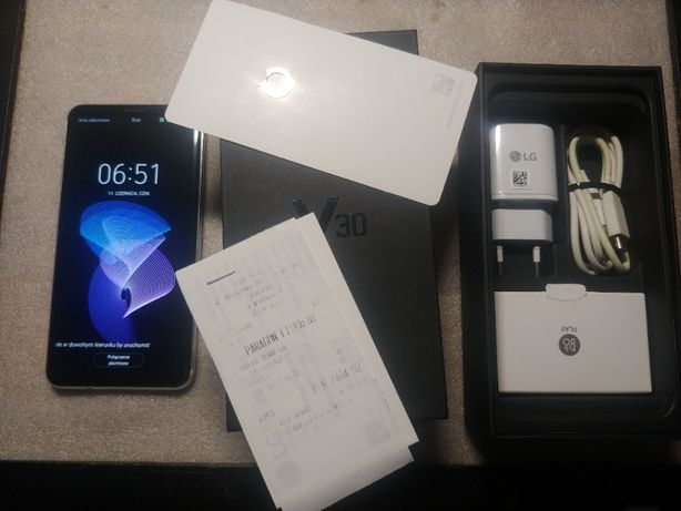 LG V30 H930 single sim srebrny bez blokad