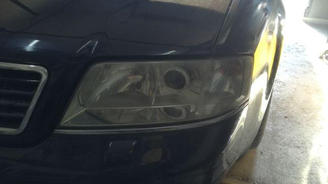Lampy przód lewa prawa ksenon Audi A6 C5 komplet