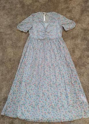 Нежное и красивое миди платье от asos