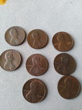 Монеты Аврам Линкольн