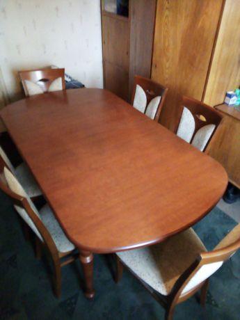Sprzedam stół plus 6 krzeseł