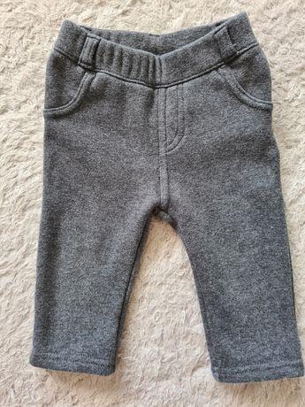 Ciepłe spodnie / ciemnoszare / Kiabi