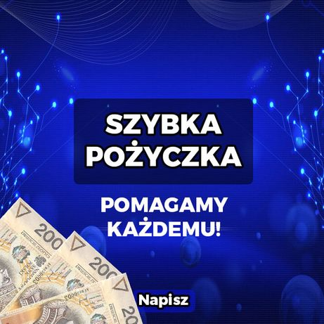 Pożyczki gotówkowe. Chwilówki Kredyt/kredyty bez BIK/BAZ. Cała Polska