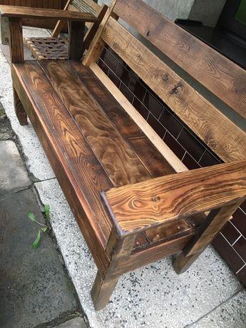 Ławka ławeczka z drewna rustical prosze zaproponowac cene