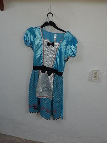 strój karnawałowy kostium Alicja w Krainie Czarów roz. L
