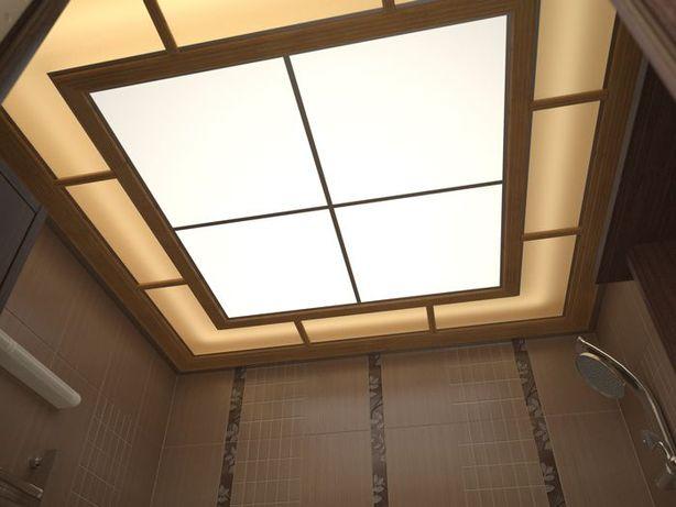 Плиты для подвесного потолка из светорассеивающего пластика