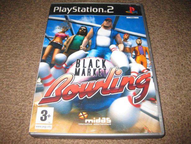 "Jogo ""Black Market Bowling"" para a Playstation 2/Completo!"