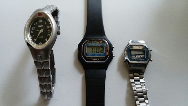 Zegarek na rękę Ellen Paris EL-1109 Golden M-292 Wrangler pamiątka PRL