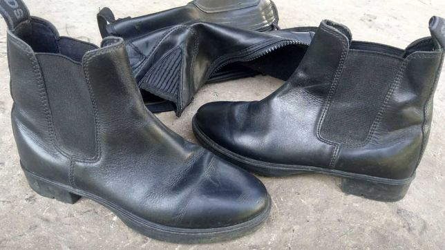 Ботинки с крагами для конного спорта, 32р.