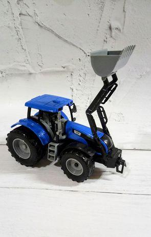 Игрушка синий трактор инерционный