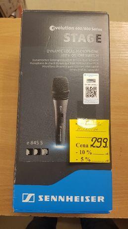 Mikrofon dynamiczny do wokalu z wyłącznikiem e845-S ! Lombard Dębica