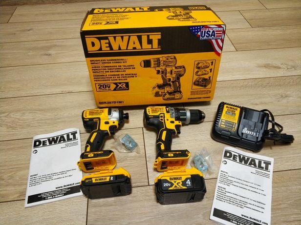 Хит продаж!Шуруповерт деволт аккумуляторный набор DEWALT DCK287D1M1