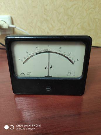 Микроамперметр +-60мка