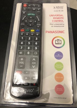 Pilot do telewizora Panasonic Savio RC-06