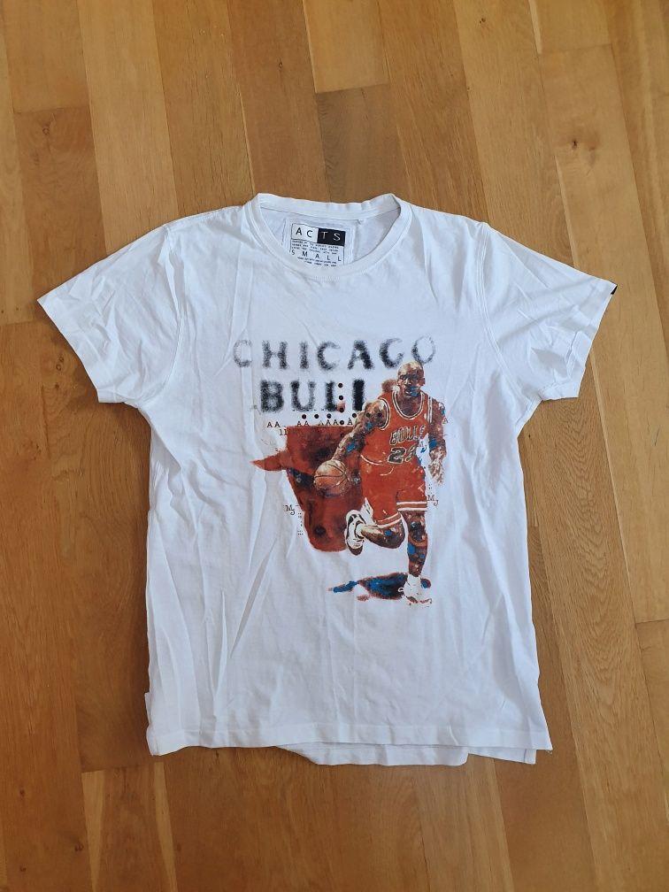 Koszulka Micheal Jordan Chicago Bulls NBA biała roz. S