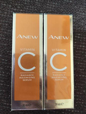 Avon Anew Rozświetlająco-odmładzające serum do twarzy z 10% wit. C