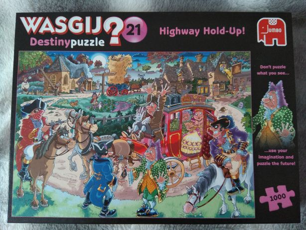 Puzzle Wasgij 1000 Destiny 21 Highway Hold-Up