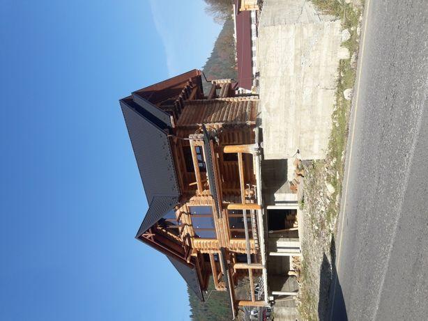 Будівництво дерев'яних будинків / строительство деревянных домов брус