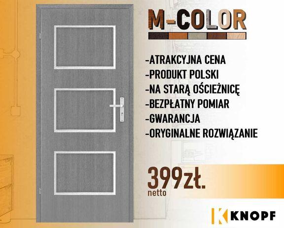 """Drzwi wewnętrzne """"M-Color""""; zaprojektuj własną kolorystykę!"""