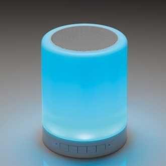 Głośnik bloetooth Dunlop zmieniający kolory