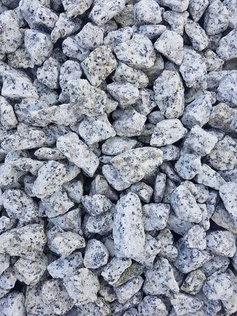 Grys Granitowy Tłuczeń Żwir ozdobny Kamień do ogrodu SUPER cena