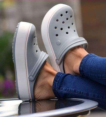 Crocs Crocband Platform ЛУЧШАЯ ЦЕНА все цвета крокс кроксы
