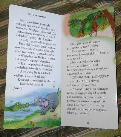 """Opowieści z miarką """"Bajki o zwierzętach"""". Sztywne stronice / czekolada"""
