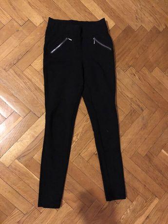 Лосины брюки zara mango черные