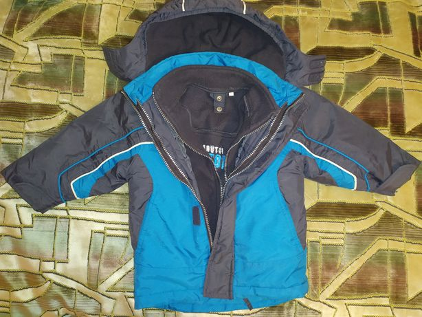 Куртка деми флис 92 размер
