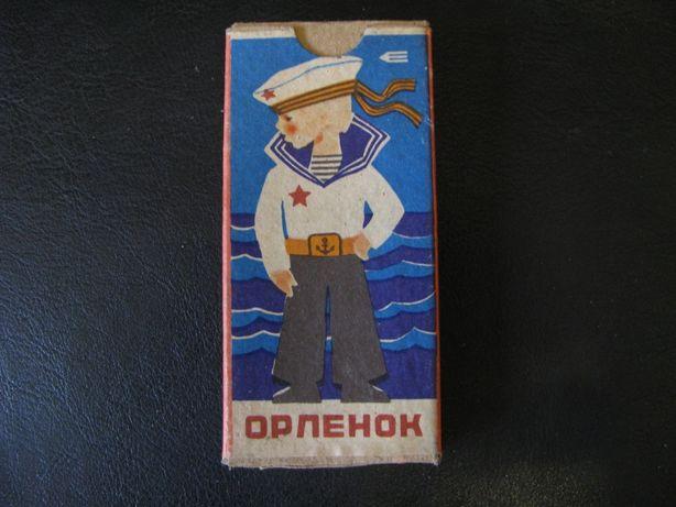 СССР Набор цветных карандашей Орленок Карандаши не точеные Новые Славя