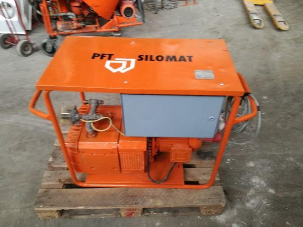 Kompletny SILOMAT PFT E100L agregat tynkarski G4 zacieraczka do tynków