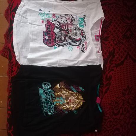 Koszulki dziewczęce 140