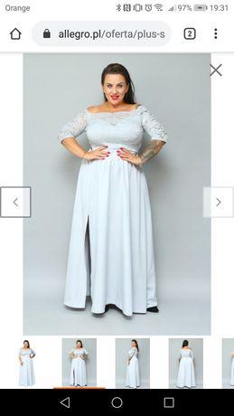 Sukienka ślubna hiszpanka r. 60-62