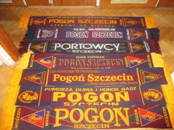 Komplet szali Pogoń Szczecin