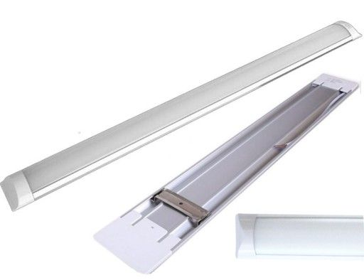 Świetlówka LED 120cm lampa natynkowa Panel do garazu Plafon