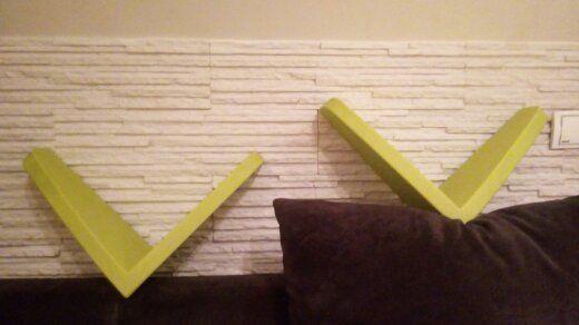 Zielone półeczki - seria Mamut - Ikea - 2szt