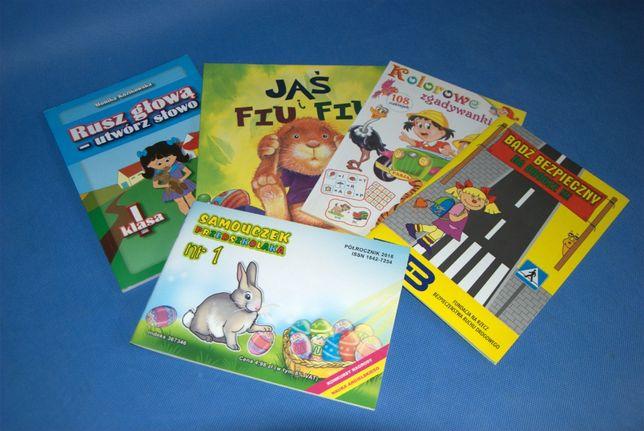 Zestaw książeczek dla 5-7 latka