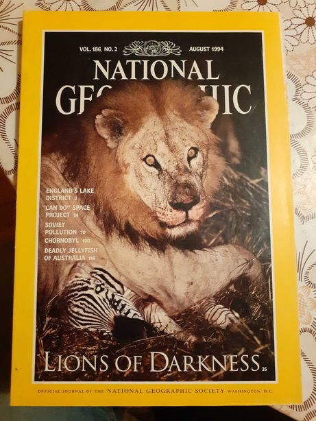 National Geographic august 1994